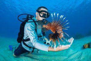 Alex Fogg Antigua Lionfish Derby