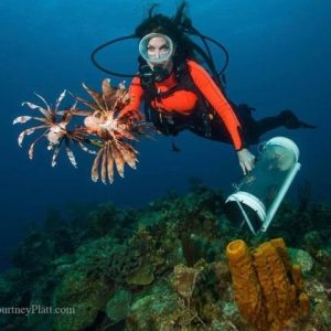 Stacy Frank Antigua Lionfish Derby